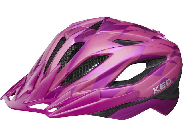 KED Street Jr. Pro Lapset Pyöräilykypärä , vaaleanpunainen